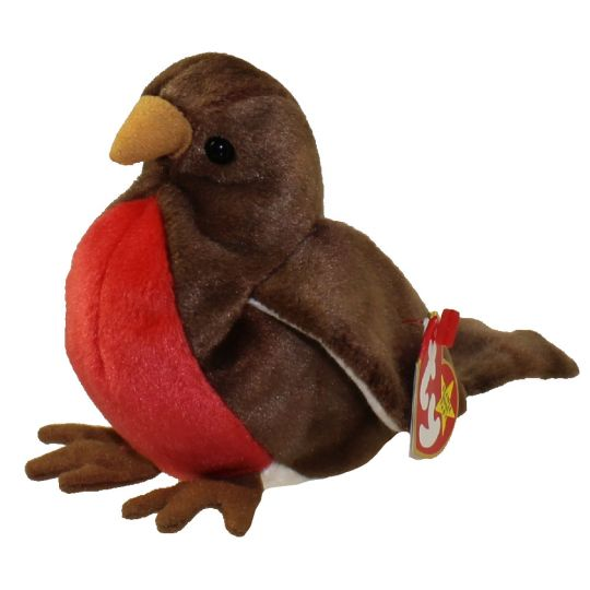 TY Beanie Baby - EARLY the Robin (4.5 inch)