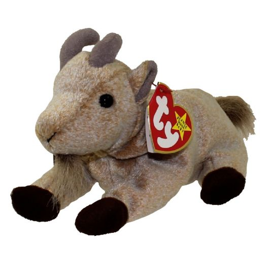 TY Beanie Baby - GOATEE the Goat (6 inch)
