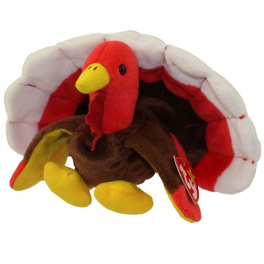 TY Beanie Baby - GOBBLES the Turkey (5.5 inch)