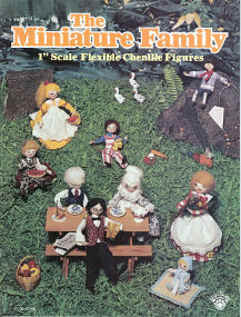 The Miniature Family 1inch Scale Flexible Chenille Figures