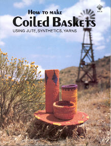 How To Make Coiled Baskets Using Jute, Synthetics,