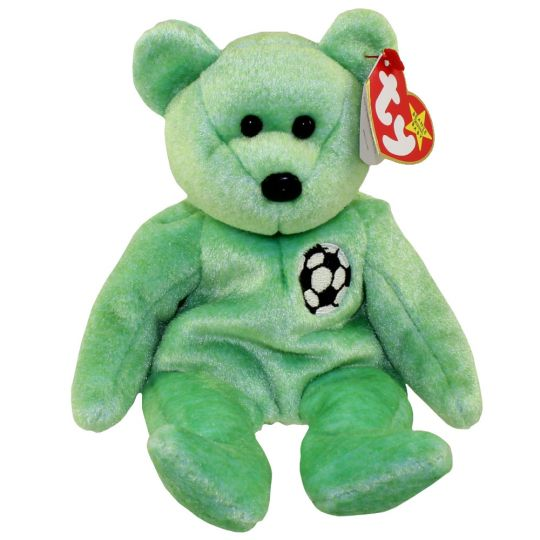 TY Beanie Baby - KICKS the Soccer Bear (8.5 inch)