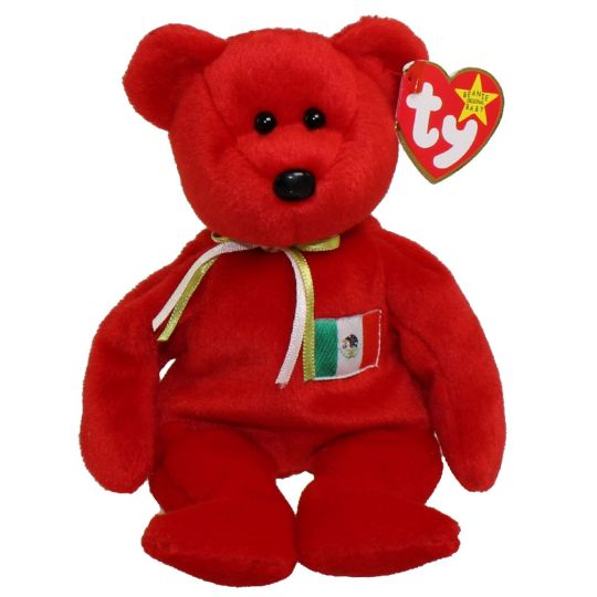 TY Beanie Baby - OSITO the Mexician Bear (USA Exclusive) (8.5 inch)
