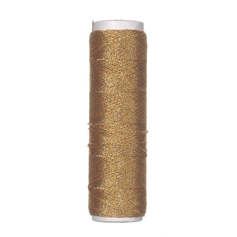 Lame Cord - Non-Elastic - 2-Ply - Gold - 50 yards