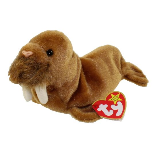 TY Beanie Baby - PAUL the Walrus (7 inch)