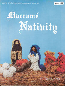 Macrame' Nativity