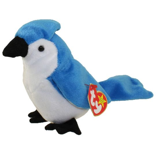 TY Beanie Baby - ROCKET the BlueJay Bird (5.5 inch)
