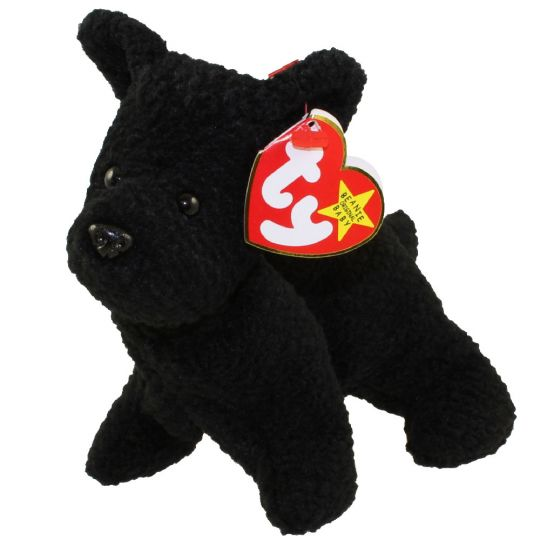 TY Beanie Baby - SCOTTIE the Terrier Dog (6 inch)