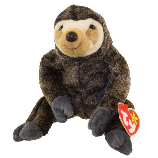 TY Beanie Baby - SLOWPOKE the Sloth (5.5 inch)