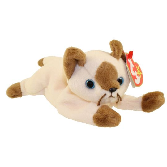TY Beanie Baby - SNIP the Cat (7.5 inch)