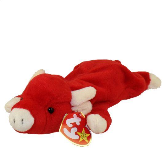 TY Beanie Baby - SNORT the Bull (9 inch)