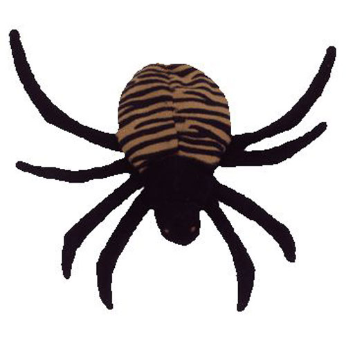 TY Beanie Baby - SPINNER the Spider (5 inch)