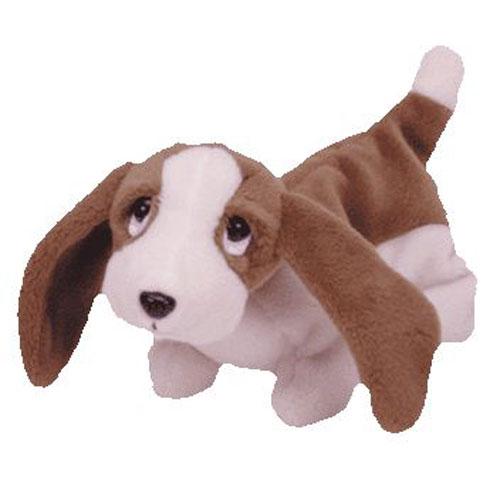 TY Beanie Baby - TRACKER the Basset Hound (7 inch)